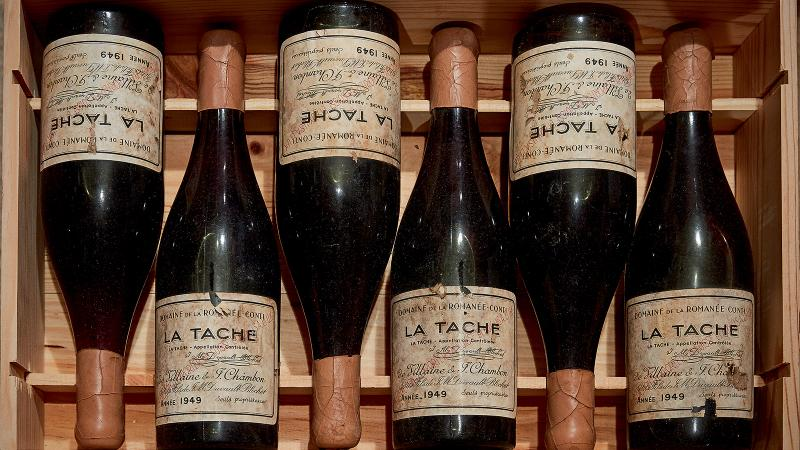 The auction of Robert Drouhin's cellar included DRC rarities, some from as far back as the 1937 vintage.