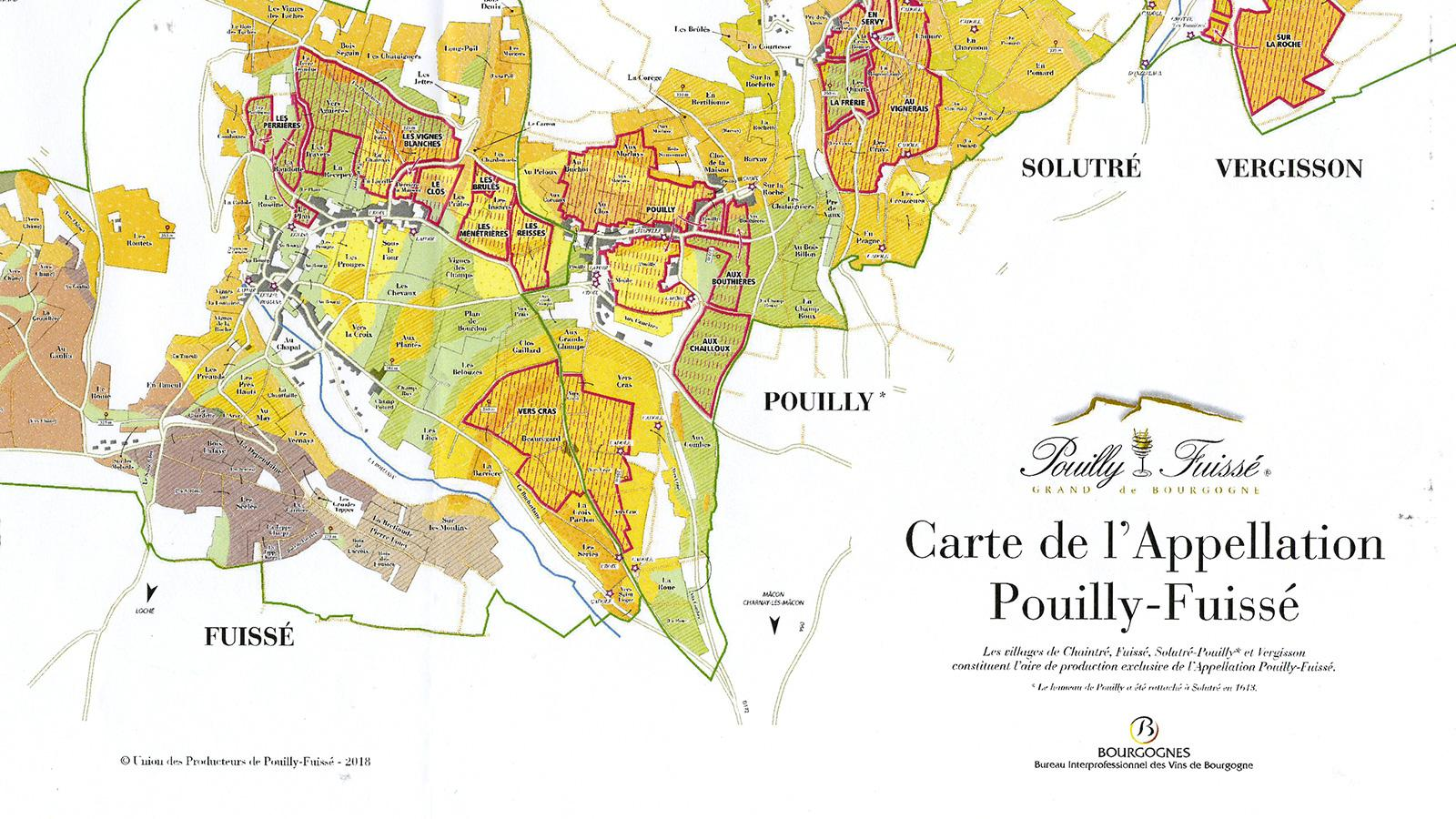 Pouilly-Fuissé will soon have 22 premiers crus.