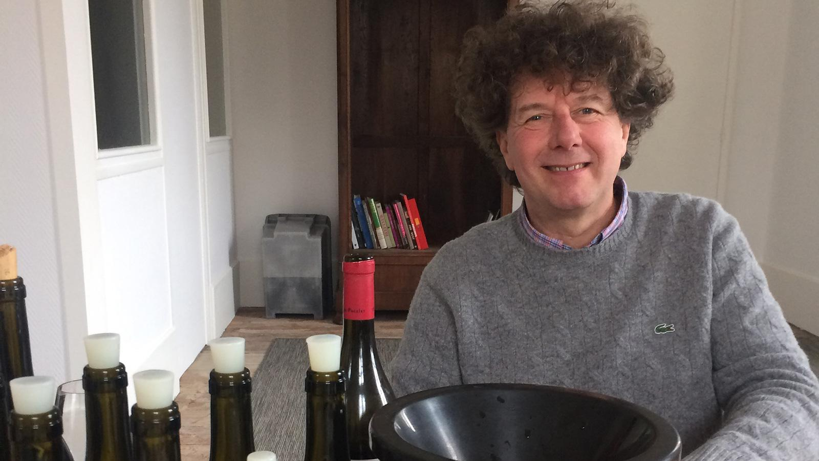 Phillipe Pacalet offered a sneak peek of some of his 2016 reds and whites.