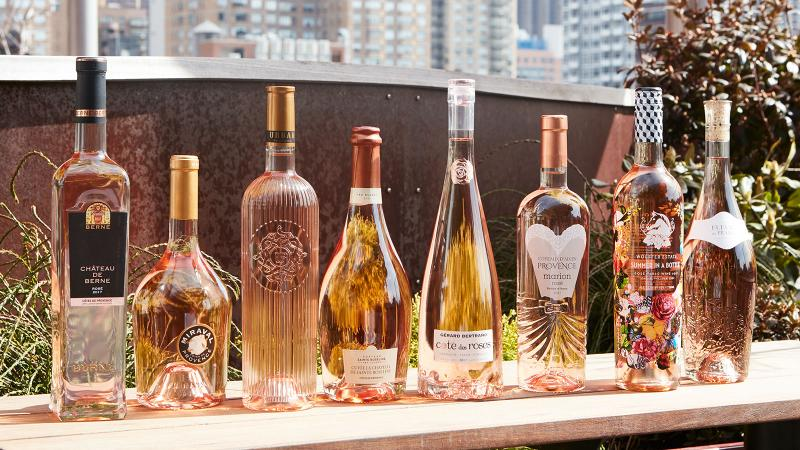 The Shape of Pink: Evolution of the Rosé Bottle