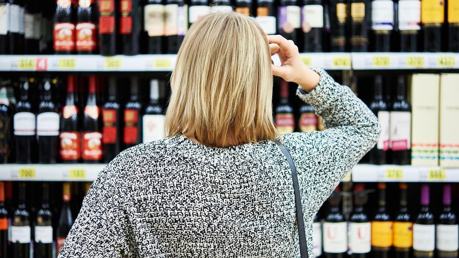 Shopping for wine among a sea of labels and prices can be overwhelming.