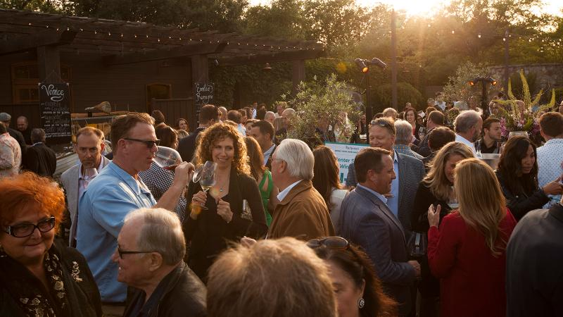 Some of Napa's top vintners celebrated gorgeous weather, outstanding wine and friendship.