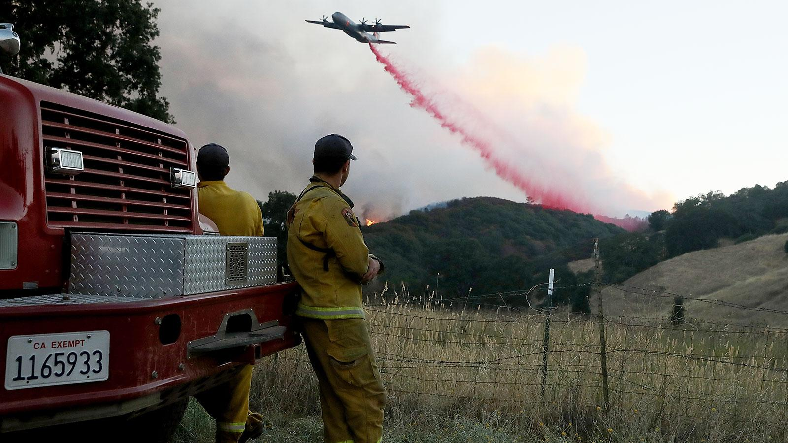 California Wine Country Bracing for Fire Season