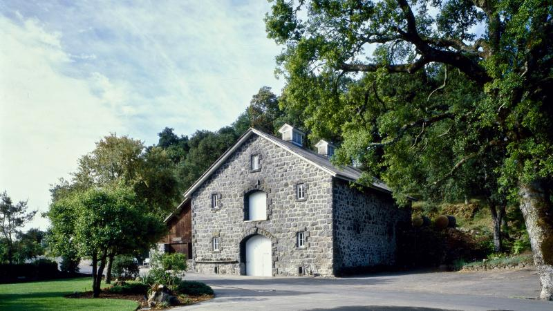 Heitz' stone winery is a Napa landmark.