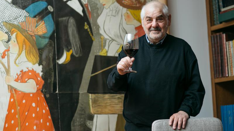Marvin R. Shanken was recognized for his impact on the global wine industry.