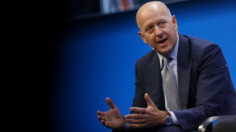 David Solomon is an enthusiastic wine collector, as well as the number two executive at Goldman Sachs.