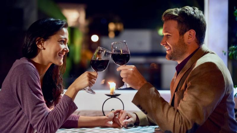 Scientists found that wine triggers reactions in our brain that make us happy.