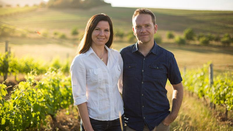 Andrea and Chris Mullineux faced drought conditions and lower yields in Swartland.