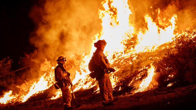 Thousands of firefighters have been confronting multiple blazes across California.