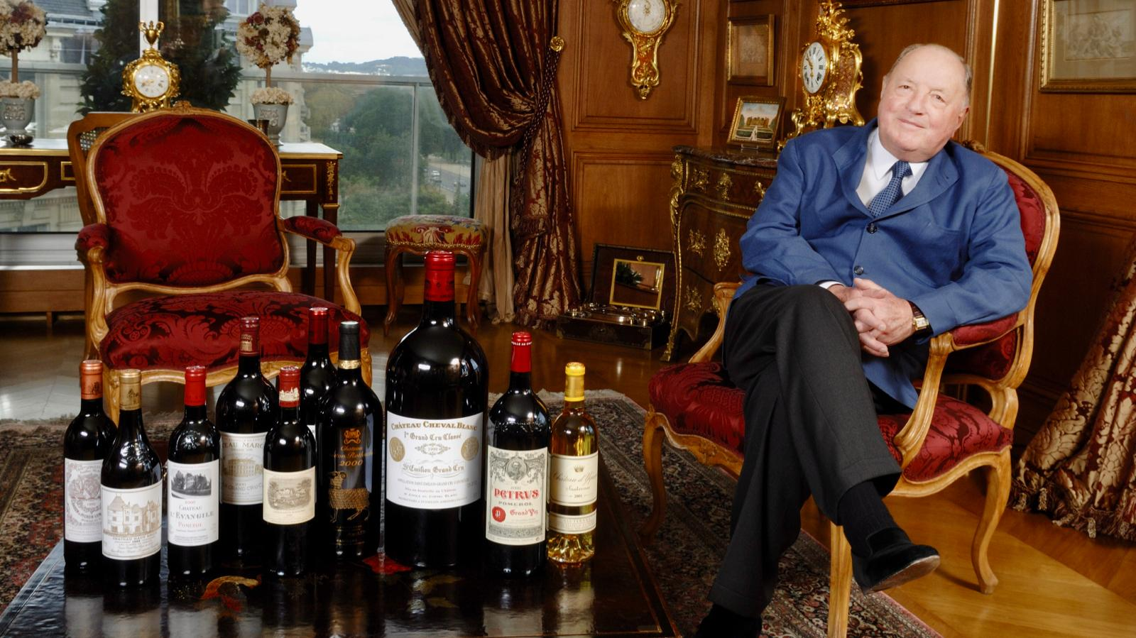 Co-Owner of Château Cheval-Blanc Dies