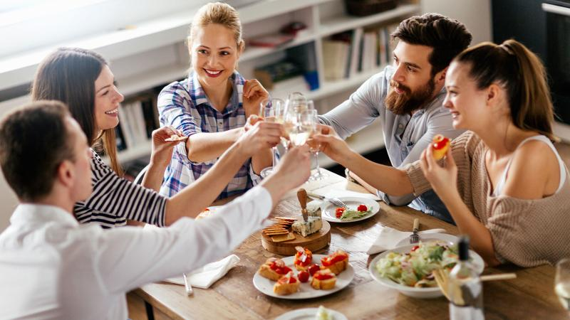 A healthy diet and wine in moderation are two habits that could extend life expectancy.