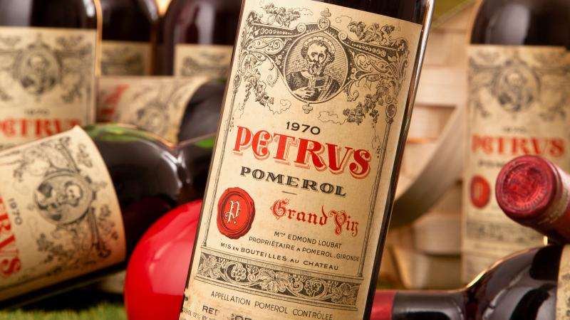 While Burgundy continues to reign at rare wine auctions, top Bordeauxs like Pétrus are seeing higher prices.
