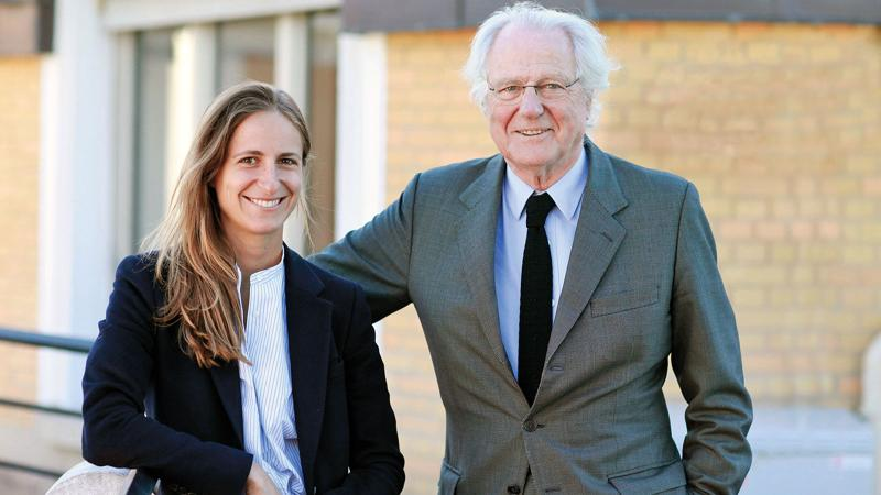Saskia de Rothschild is now chairman of her family's wineries, while her father, Baron Eric, remains managing partner at Lafite.