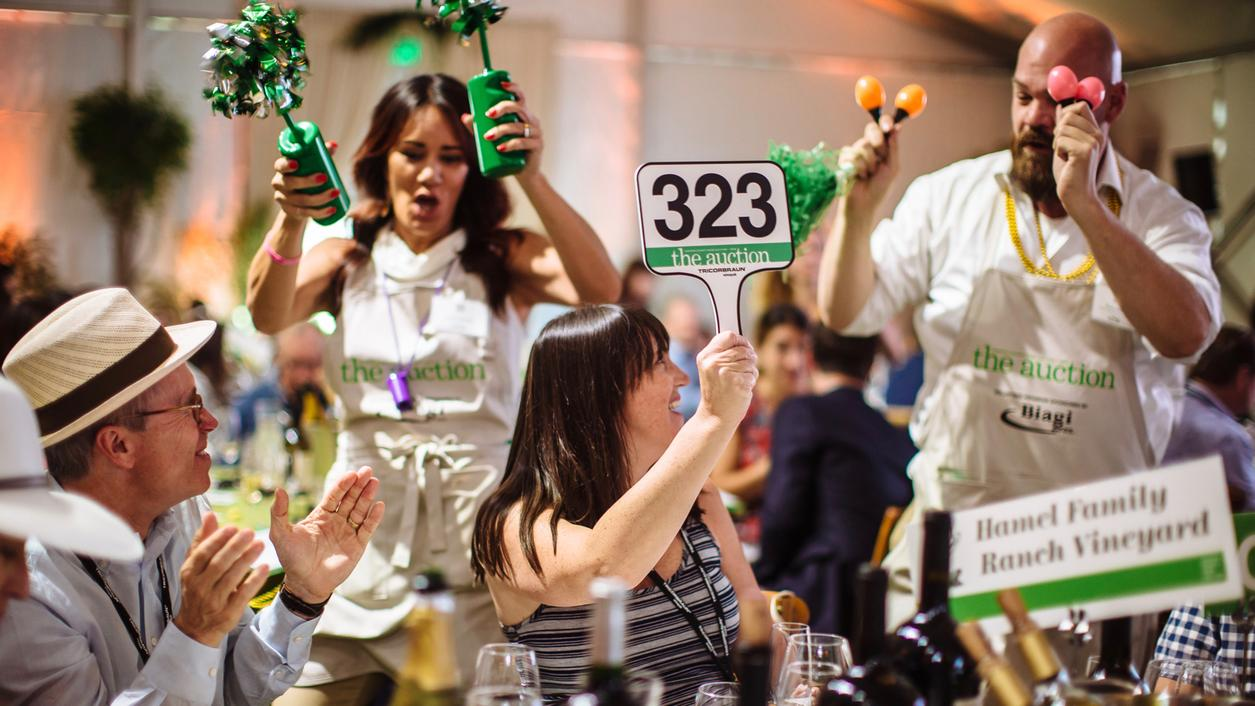 Sonoma County Wine Auction Reaches New Heights, Raising $5.7 Million