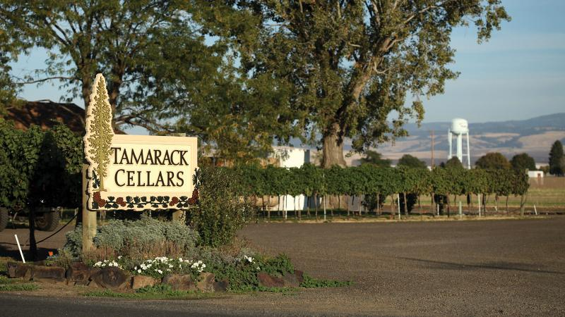 Tamarack's winery is located on the grounds of an old airport in Walla Walla.