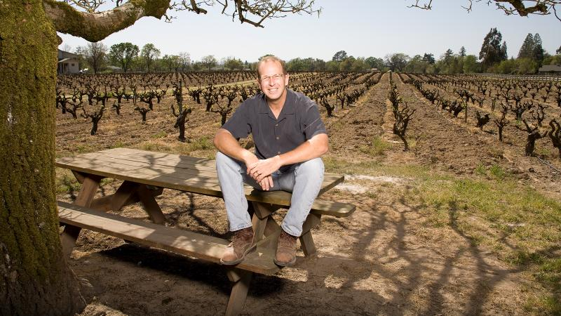 Mike Officer of Sonoma's Carlisle Winery & Vineyards is one of many small winemakers facing big tax increases.