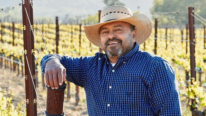 Ulises Valdez was known for his vineyard knowledge and his trademark smile.