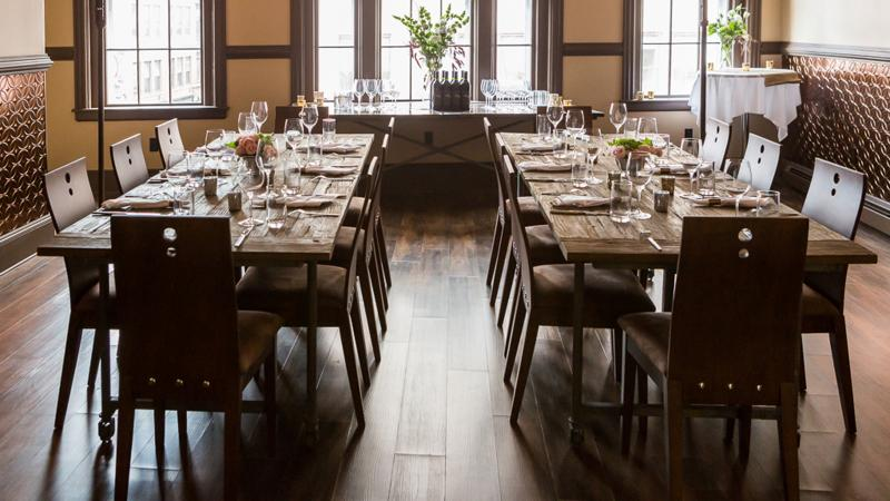 Portland fine-dining fixture Five Fifty-Five is a destination for California wine lovers.