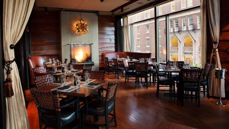 Post 390 complements a regional American menu with a wine list strongest in France, California and Italy.