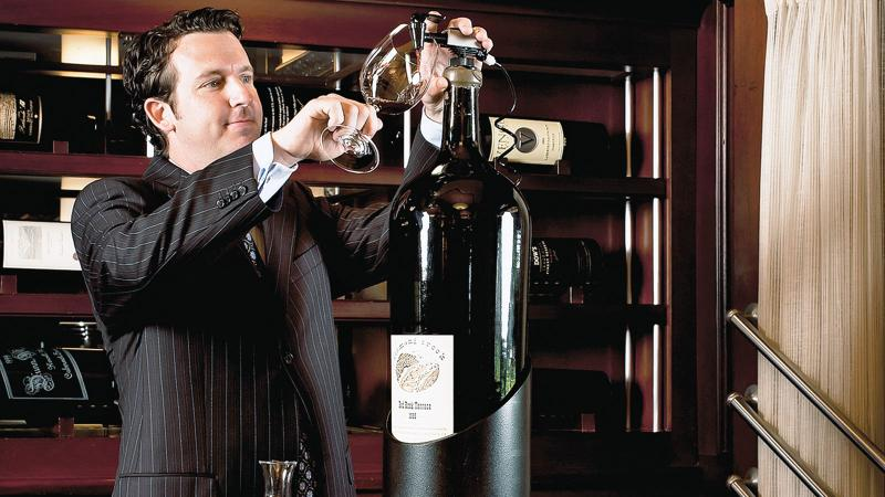 Pappas Bros. Steakhouse Houston has a Grand Award–winning list featuring more than 350 large-format labels.