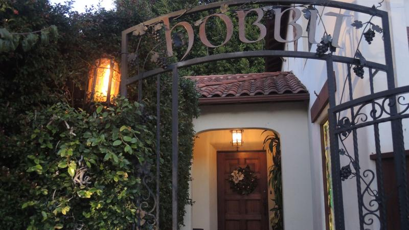 Guests are invited to roam the property during their meal at the Hobbit.