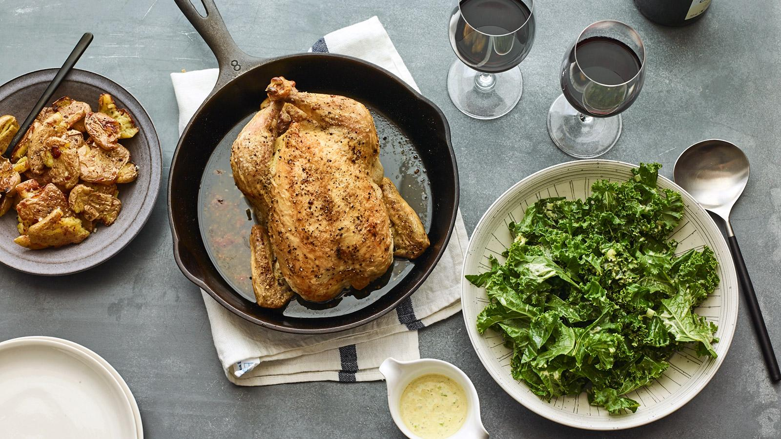 Perfect Match Recipe: Roasted Whole Chicken