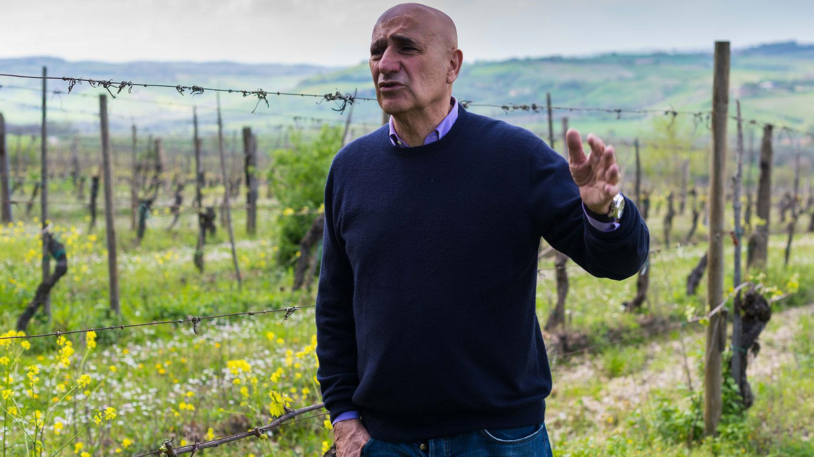 Federico Carletti has spent his life exploring wine and terroirs in Montepulciano.