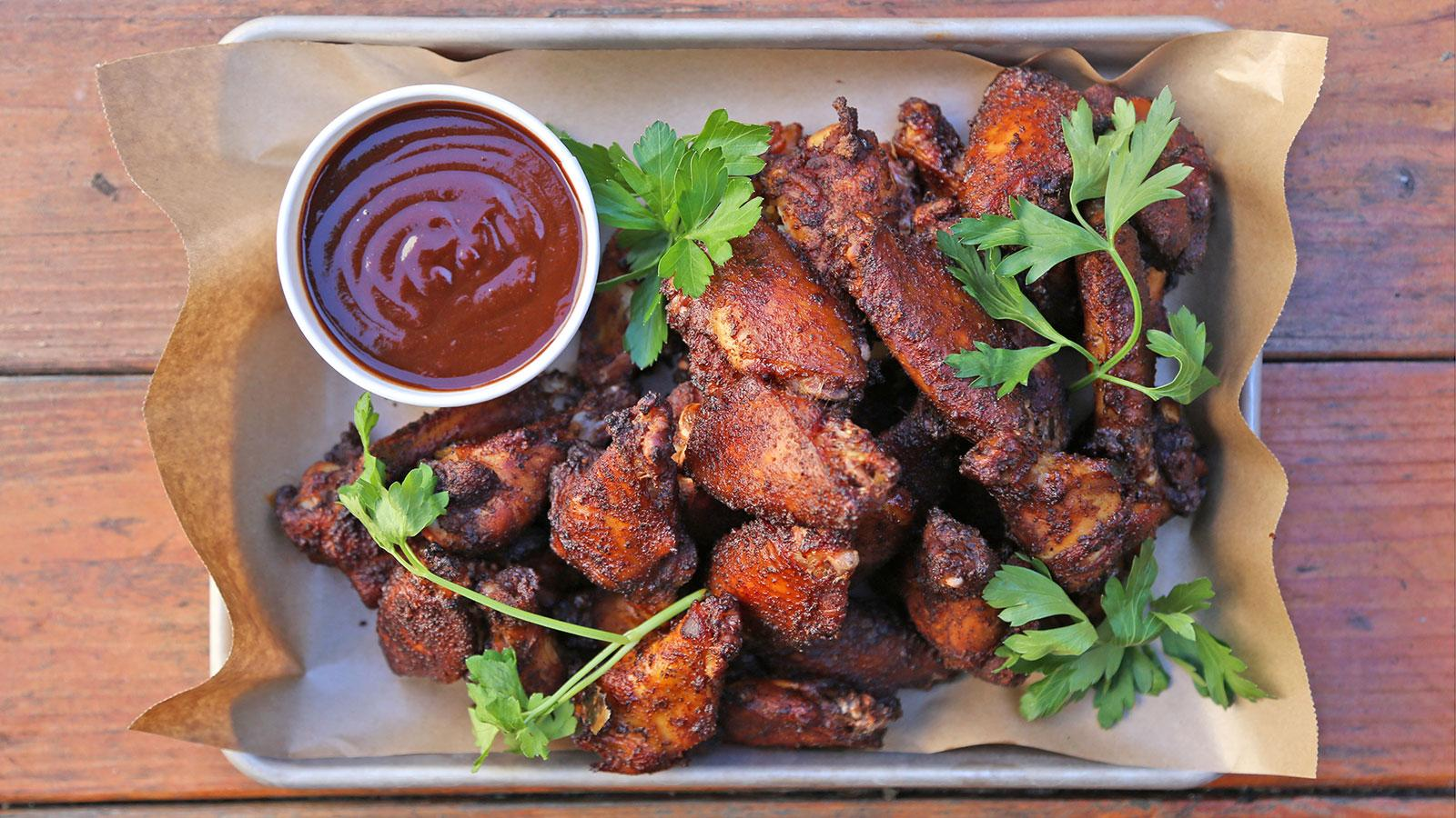 Super Bowl Recipes Barbecue Wings And Fried Clams Plus