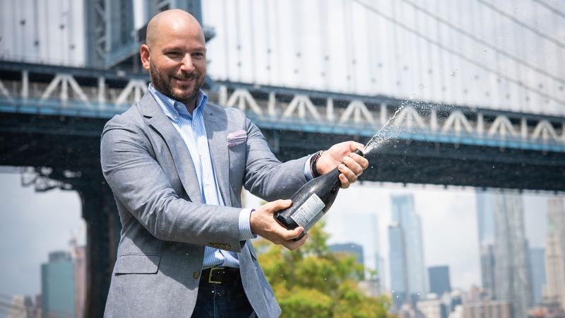 Brooklyn sommelier Alex LaPratt takes work—and play—seriously.