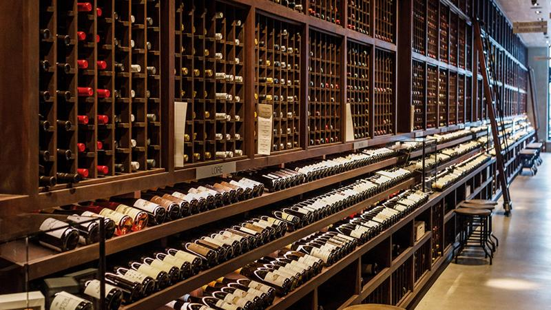 Wally's Santa Monica, like its other Grand Award–winning outpost, is a wine lover's treasure trove.