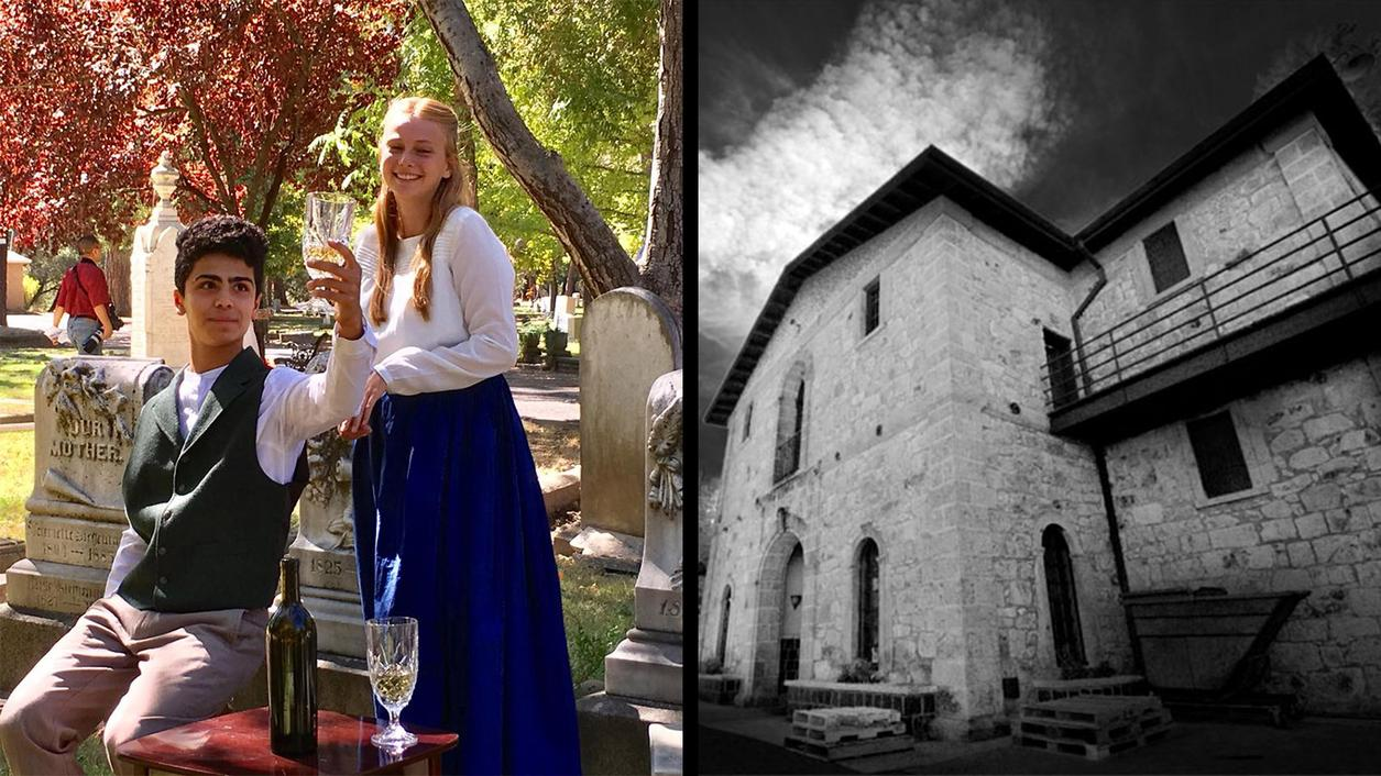 Long-Dead Napa Winemakers Come to Life in St. Helena Cemetery; Paranormal Activity at 'Ghost Winery'