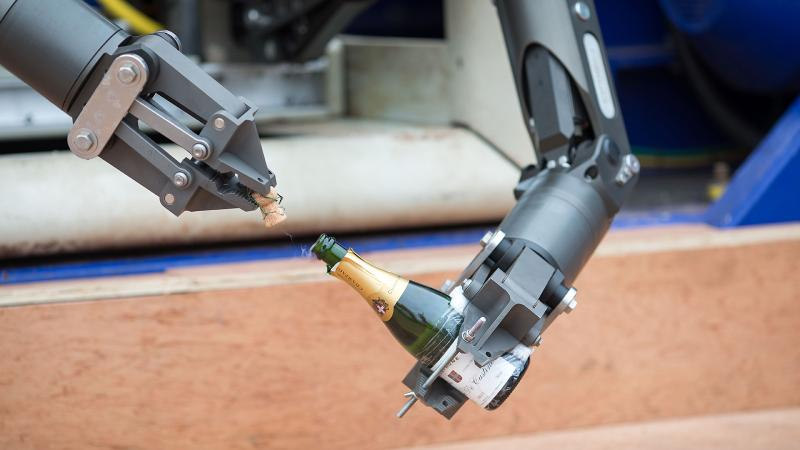 Advanced Wine Robot Drinks Your Champagne; <i>Sweetbitter</i>'s Unicorn Wine Surprises