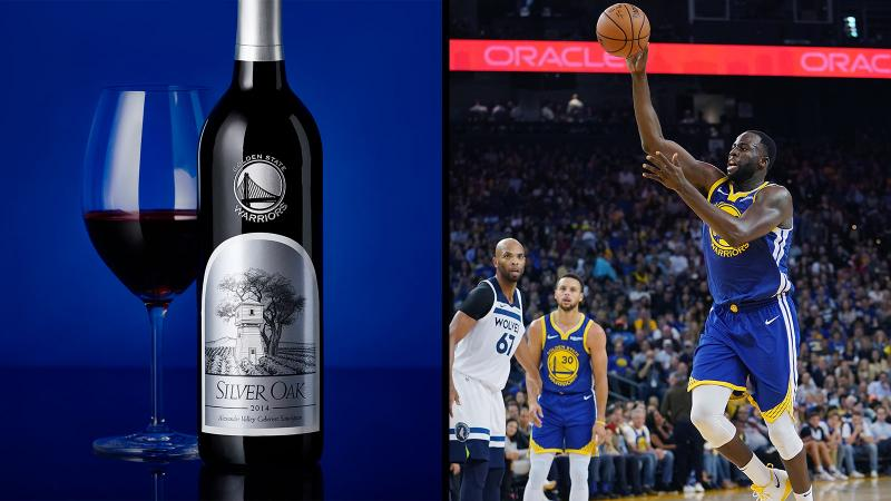 Silver Oak and Draymond Green (right) get air.