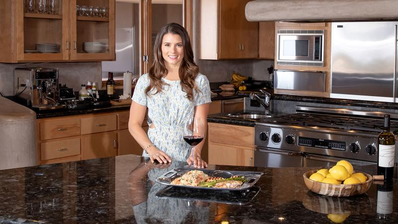 Recently retired from racing, Danica Patrick is not only ramping up her wine label, Somnium, she's also upping her game as a home cook.