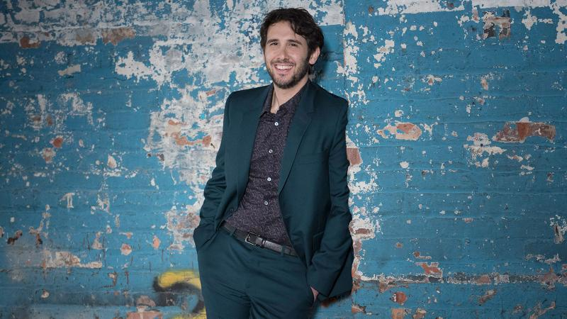 """Image for an article: With a starring role in the new show """"The Good Cop,"""" Josh Groban is a triple threat: singer, actor, vintner."""