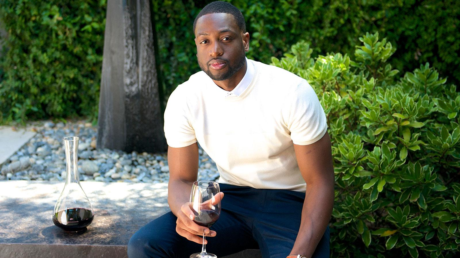 Dwyane Wade Gets into the Wine Game