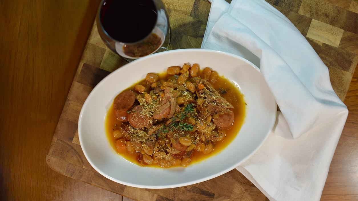 8 & $20: Streamlined Cassoulet