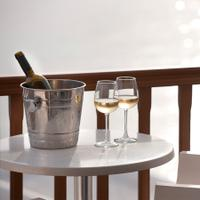 Sparkling wines should be kept chilled to preserve their freshness.