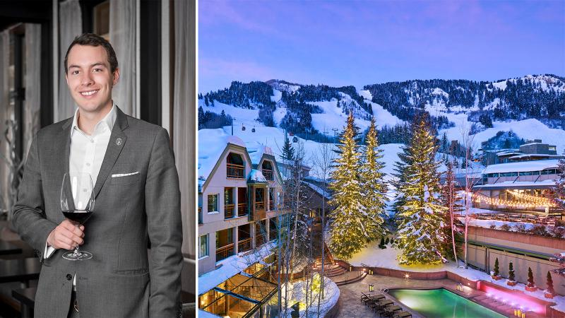 Chris Dunaway is now the wine director for one of the country's most lauded luxury resorts for wine.