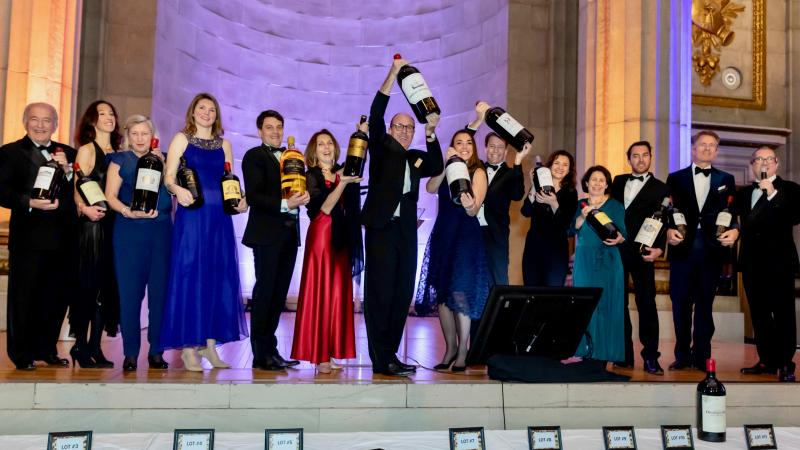 Heart's Delight Charity Wine Auction Raises $1.3 Million for American Heart Association