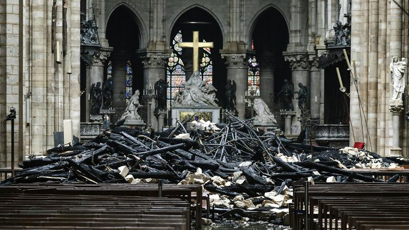 After Notre-Dame Fire, Wine Industry Rushes to Help