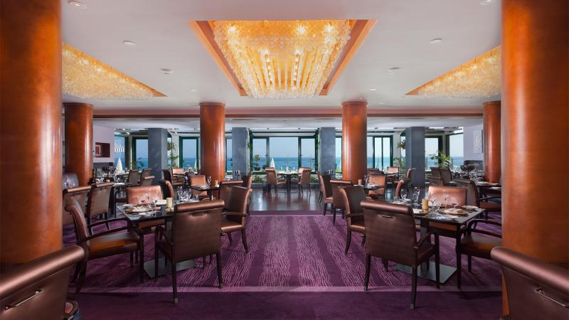 At 1919 Restaurant, enjoy a world-class wine list while looking out at the Atlantic Ocean.
