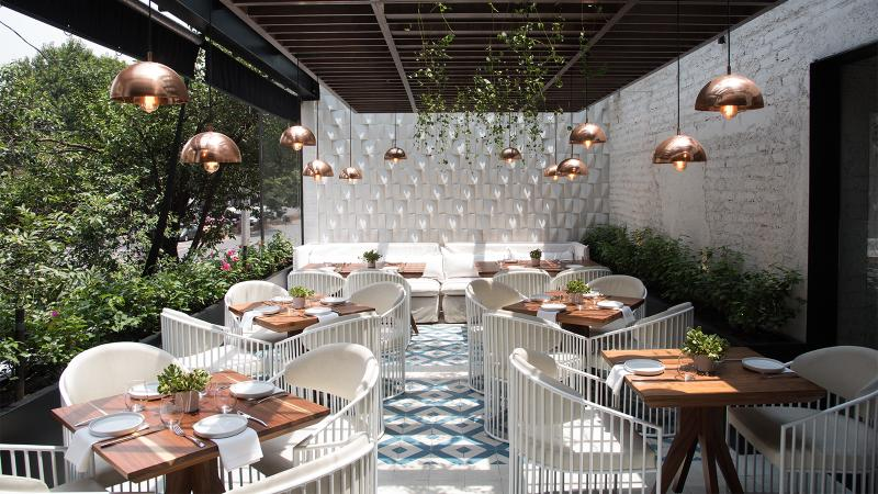 Loretta Chic Bistrot is a casual neighborhood eatery with European flair.