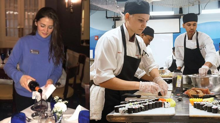 At College Restaurants, Students Run the Show