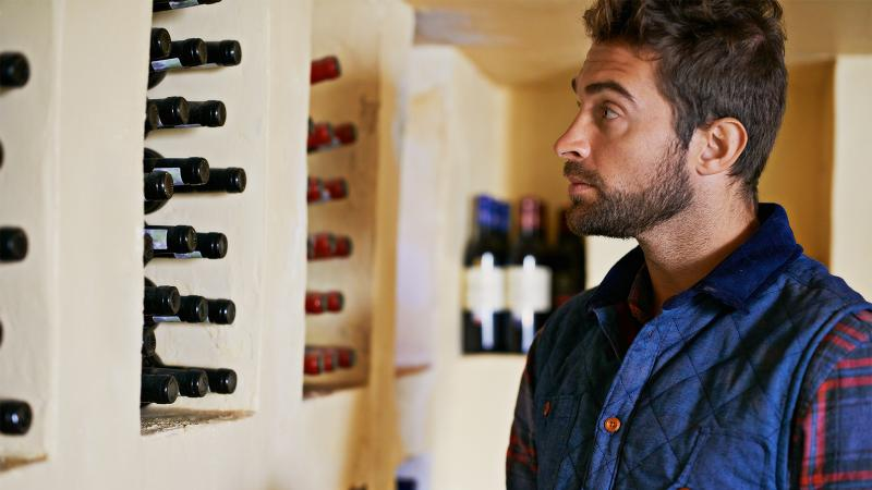 Whether cases of daily drinkers or special birth-year wines, most somms keep a private stock.