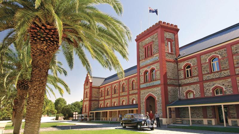 The striking Chateau Tanunda building was built in the late 1880s, but there were vines here as early as the 1840s.