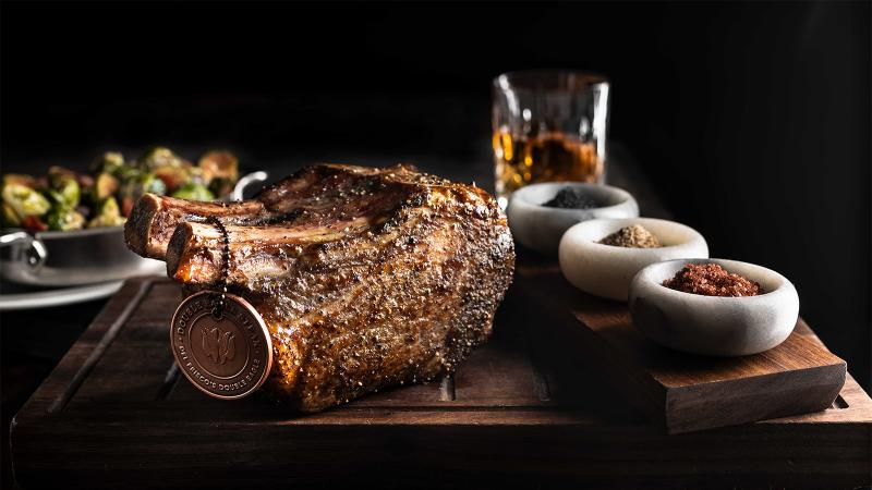 Del Frisco's Double Eagle Steakhouse is a go-to for a great cut of meat and a stellar bottle of wine.
