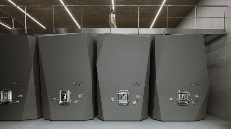 Masseto Unveils New Ultramodern Underground Winemaking Lair
