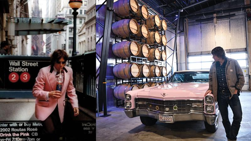 Charles Bieler Revs Up Pink '66 Cadillac for Great American Rosé Road Trip