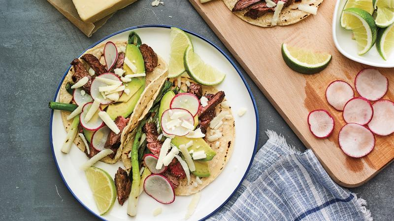 Dining Tip: Cheese and Steak Tacos